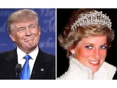 ڈونلڈ ٹرمپ کی شہزادی ڈیانا کے ساتھ کی گئی شرمناک ترین حرکت 20برس بعد سامنے آگئی، امریکی دنیا کے سامنے شرم سے پانی پانی ہوگئے