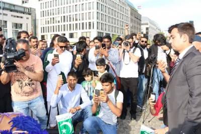 جرمنی میں پاکستانی سفاترخانے کے زیرِاہتمام یوم آزادی کی رنگا رنگ تقریب کا انقعاد