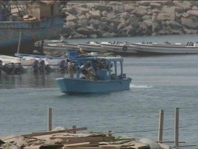 المخا بندرگاہ پر دہشت گردی کی حوثی سازش ناکام،بارودی کشتی تباہ