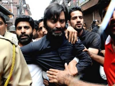 بھارتی فورسز نے حریت رہنما یاسین ملک کو حراست میں لے لیا