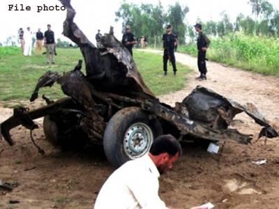 لوئر دیر میں ریمورٹ کنٹرل بم دھماکا، امن کمیٹی کے رکن سمیت 4 افراد زخمی