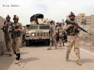 عراق ، امریکی اتحادی اور عراقی فوج کا حملہ ،داعش کے17دہشت گردہلاک، اسلحہ ڈپو تباہ