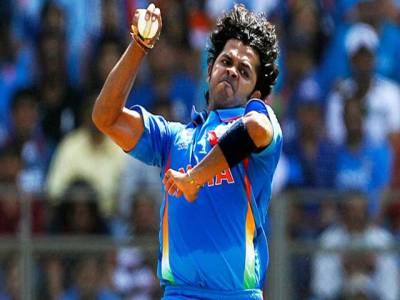 بھارتی فاسٹ باؤلر سری سانتھ کی 4سال بعد کرکٹ کی دنیا میں ایک بار پھر واپسی