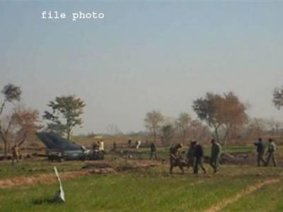 صبح سویرے پاک فضائیہ کا طیارہ گر کر تباہ ،دو پائلٹس زخمی