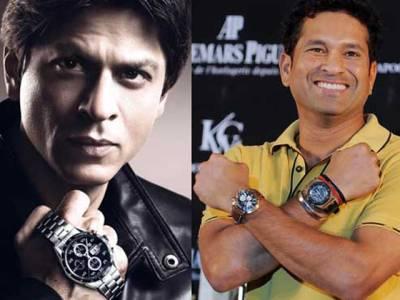 بھارتی اداکار اور کرکٹرز مہنگی گھڑیوں کے شوقین نکلے
