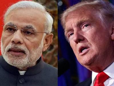 ٹرمپ کا مودی کوفون،امریکا ،بھارت ٹو بائی ٹو وزارتی مذاکرات پر رضامند