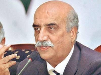میاں صاحب کے خلاف فیصلہ ووٹ کے تقدس کی پامالی نہیں، نواز شریف عدلیہ کے ساتھ محاذ آرائی کر رہے ہیں: خورشید شاہ