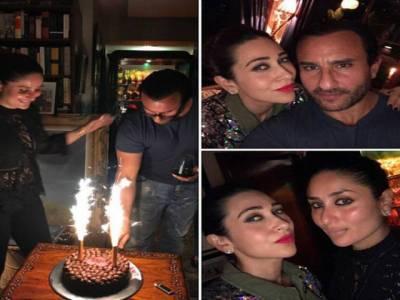 سیف علی خان کی سالگرہ کی تصاویر منظر عام پر آ گئیں