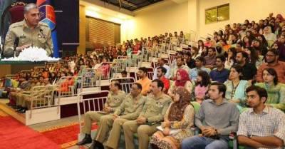 نوجوان طلبا سوشل میڈیا پر معاندانہ بیانیہ اور داعش سے منسلک تنظیموں سے بہت زیادہ محتاط رہیں:آرمی چیف