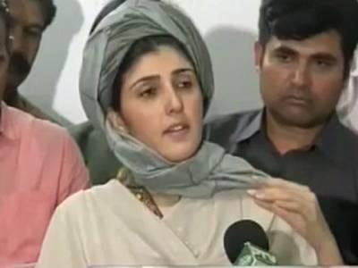 نوجوانوں کا لیڈر بننے والاعمران خان اصل میں ان کی صلاحیت سے حسد کرتا ہے:عائشہ گلہ لئی