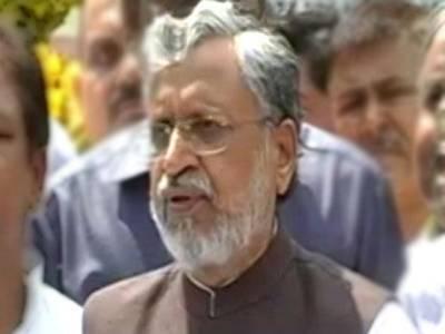 بھارت، بہار کے نائب وزیر اعلی سشیل کمار مودی کے قافلے پرپتھراو ، 6مشتبہ افراد گرفتار