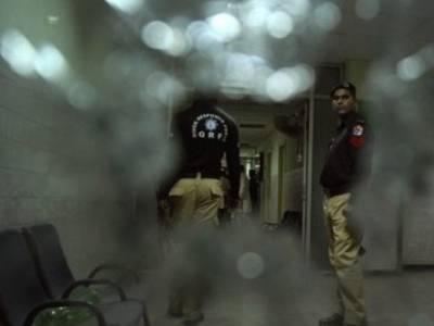 کراچی میں پولیس پر فائرنگ کے نتیجے میں 1پولیس اہلکا ر شہید