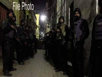 پولیس اور حساس اداروں کا ملتان میں مشترکہ سرچ آپریشن، 4مشتبہ افراد گرفتار، اسلحہ بر آمد