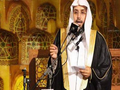 امام کعبہ کا مکہ مکرمہ میں پاکستانی عازمین حج کی قیام گاہ کا دورہ