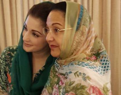 کلثوم نواز کی غیرموجودگی میں مریم نوازان کی انتخابی مہم چلائیں گی:نجی ٹی وی