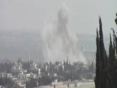 شام میں امریکی افواج کی بمباری، خواتین اور بچوں سمیت42عام شہری جاں بحق