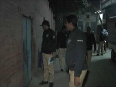 پولیس کا ملتان میں سرچ آپریشن،5مشتبہ افراد گرفتار،اسلحہ بر آمد