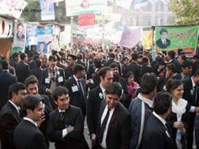 ملتان ہائیکورٹ بار اور لاہور ہائیکورٹ کے مابین معاملات طے پانے تک احتجاج جاری رہے گا،وکلاءتنظیموں کا اجلاس