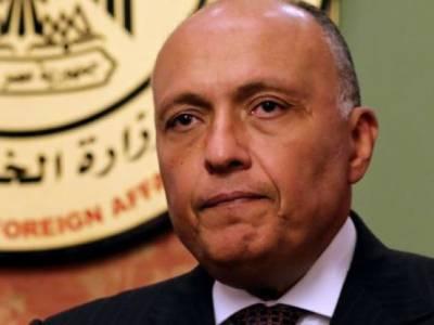 امداد روکنے پر مصری وزیر خارجہ کا ٹرمپ کے داماد سے ملنے سے انکار