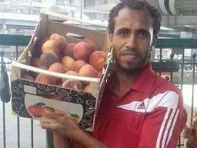 حکومتی بے حسی، مصری فٹ بال ہیرو پھل بیچنے پر مجبور