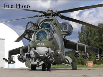 روس نے پاکستان کو 4 ایم آئی 35 گن شپ ہیلی کاپٹر فراہم کر دیئے