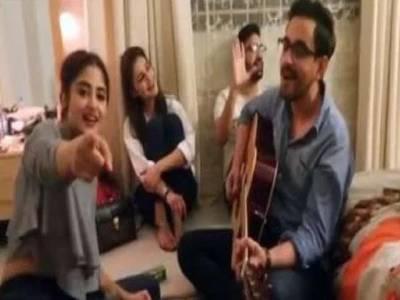سجل علی اور بلال خان کے گانے کی ویڈیوسوشل میڈیا پر وائرل