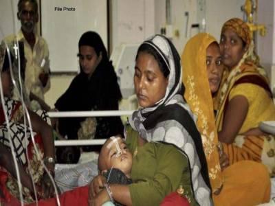 بھارتی ریاست اترپردیش میں وبائی بخار سے 61 بچے ہلاک