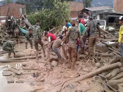 چین ،کنگہائی میں مٹی کاتودہ گرنے سے 17افراد ہلاک ،8زخمی