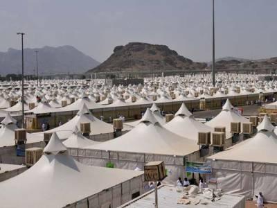میدان عرفات ، خیمے میں کرنٹ لگنے سے 2سیکیورٹی اہلکار جاں بحق