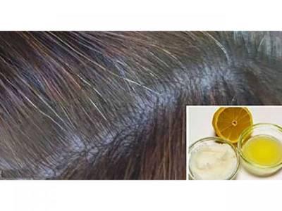لیموں میں یہ قدرتی چیز ملا کر آپ اپنے سفید بالوں کو پھر سے سیاہ کرسکتے ہیں، جانئے انتہائی آسان اور مفید قدرتی نسخ
