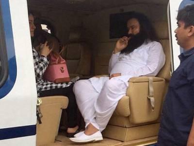 ہندوستان کے بلاتکاری بابا ''گرمیت رام کی مونہہ بولی بیٹی اور مبینہ معشوقہ ''ہنی پریت ''لاپتا ہو گئی