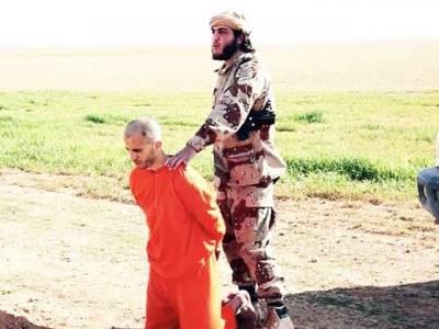 داعش نے اس آدمی کا سر کاٹنے سے قبل کس کام پر مجبور کیا؟جان کر آپ کے رونگٹے کھڑے ہوئے جائیں گے