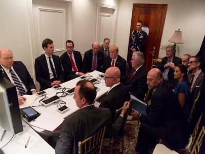 شمالی کو ریا کاہائڈروجن بم تجربہ ، ڈونلڈ ٹرمپ نے اپنی سکیورٹی کابینہ کا خصوصی اجلاس طلب کر لیا