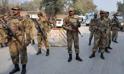 اسلام آباد میں فوج کی تعیناتی میں 3ماہ کی توسیع کردی گئی