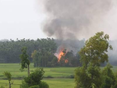 میانمار :روہنگیا مسلمانوں پر حملے جاری،مزید8دیہات نذر آتش، ایک ہزار سے زائد مسلمان مار دیئے گئے: اقوام متحدہ