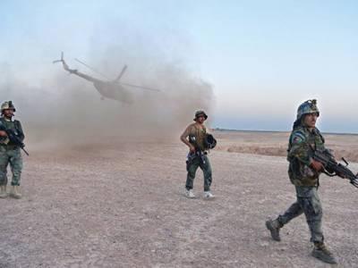 'ایران طالبان کو بھاری اسلحہ دے رہاہے اور اس بات کا ثبوت یہ ہے کہ۔۔۔' افغان فوج کے جرنیل نے ایک ہی بیان سے بڑی 'جنگ' چھیڑدی