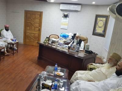مرکزی جمعیت اہل حدیث کے سینئر نائب امیر مولانا علی محمد ابو تراب کا اغوا ،سینیٹر ساجد میر نے 12 ستمبر کو ملک گیر احتجاج کا اعلان کر دیا