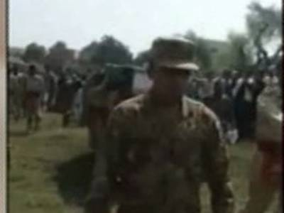 بھارتی فوج کی فائرنگ سے شہید جوان کی نماز جنازہ ادا کردی گئی
