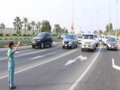 راس الخیمہ میں7 سالہ بچہ ٹریفک پولیس افسر بن گیا