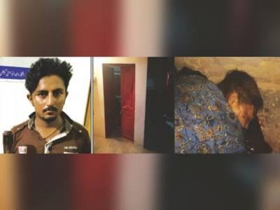 ساس کی شادی کا رنج، داماد نے ساس اور اپنی بیوی کو کلہاڑی سے قتل کر دیا، ملزم گرفتار