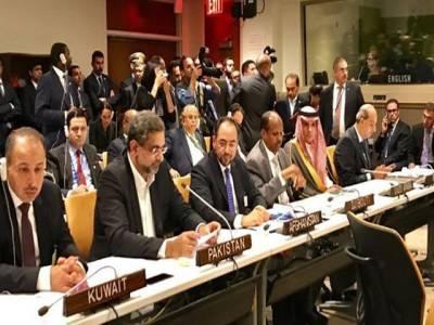 عالمی برادری میانمار پر دباؤ ڈالے، پاکستان روہنگیا مسلمانوں کی امداد کی ہرکوشش کی حمایت کرے گا: شاہد خاقان عباسی