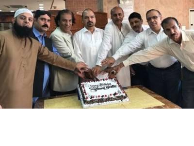 بلاول بھٹو زرداری کی 29 ویں سالگرہ پی پی پی کے جیالوں نے دبئی میں منائی