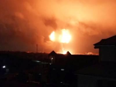 گھانا ,فلنگ سٹیشن میں دھماکہ،7افراد ہلاک ، 132زخمی