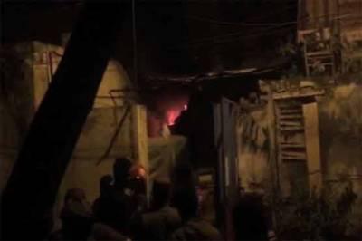 لاہور: تھانہ فیصل ٹائون میں آتشزدگی، اہم ریکارڈ جل کر راکھ