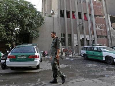 شام میں پولیس ہیڈکوارٹرز پر حملہ، 3 خود کش بمبار مارے گئے