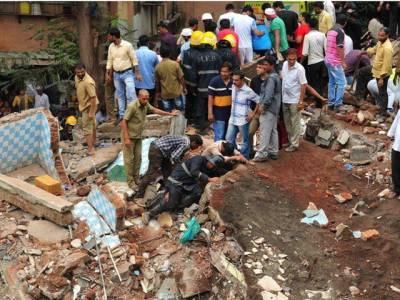 ممبئی میں غیر قانونی رہائشی عمارت منہدم ہونے سے 17 افراد ہلاک