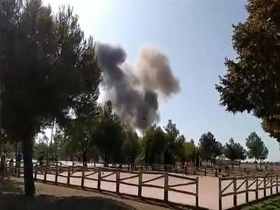 سپین میں ملٹری طیارہ ائیر بیس کے قریب گر کر تباہ ، پائلٹ ہلاک