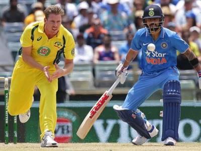 بارش کے باعث بھارت اور آسٹریلیا کے درمیان تیسرا ٹی ٹوینٹی منسوخ کر دیا گیا