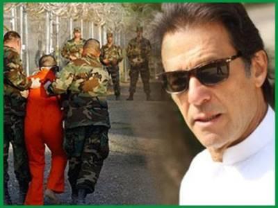عمران خان کی گوانتا نامو میں بھوک سے دم توڑتے پاکستانی کے لئے صدائے احتجاج