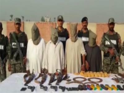 سکیورٹی فورسز کی پنجاب اور بلوچستان میں آپریشن ردالفساد کے تحت کارروائیاں، ایک دہشتگرد ہلاک، 26 گرفتار